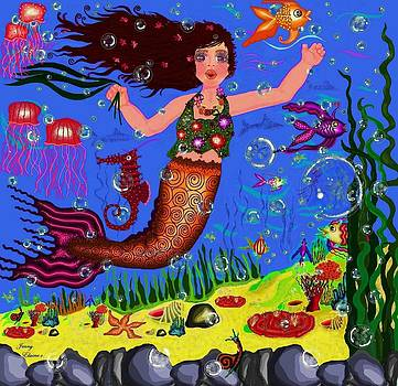 Mermaid Ela by Jenny Sorge