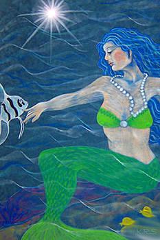 Mermaid Friends  by Karen R Scoville
