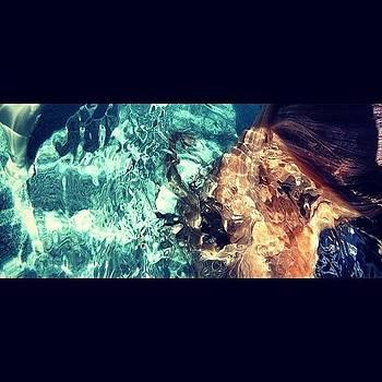 #mermaid #hair #pool #blonde #water by Leanne H