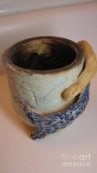 Mermaid Mug  by Laura Chorba