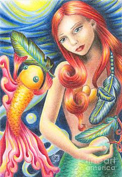 Mermaid by Olga Ziskin