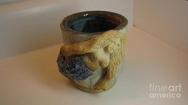 Mermaid Tea Cup by Laura Chorba