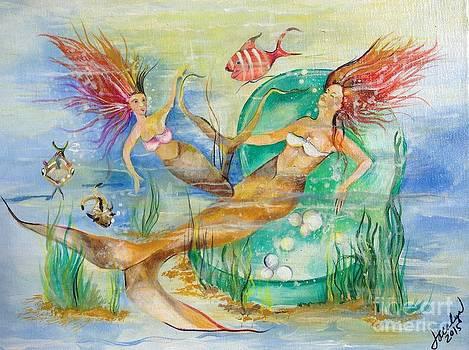 Mermaids by Jacalyn Hassler Yurchuck