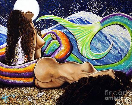 Mermaids Mystic Night  by Jackie Carpenter