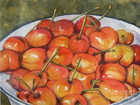 Merry Cherries by Marisa Gabetta