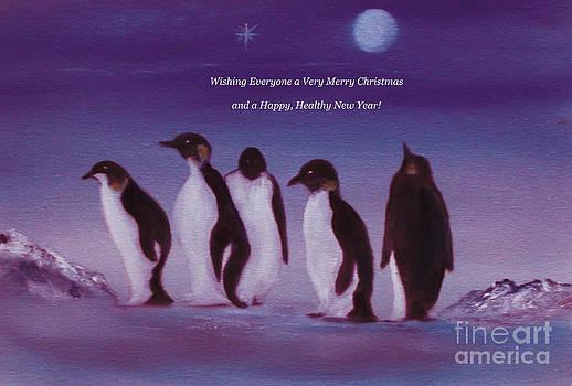 Merry Christmas Card by Cynthia Adams