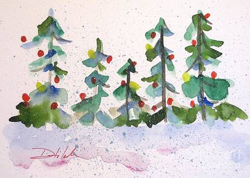 Merry Christmas by Delilah  Smith