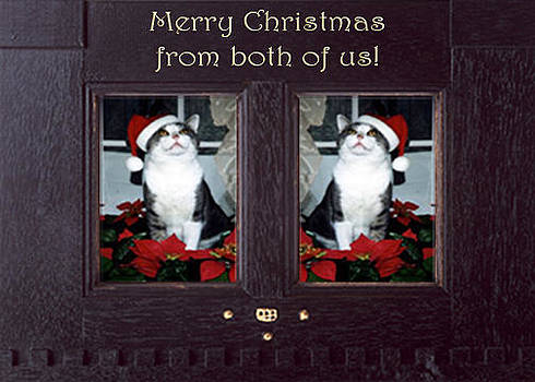 Merry Christmas from both of us by Eve Riser Roberts