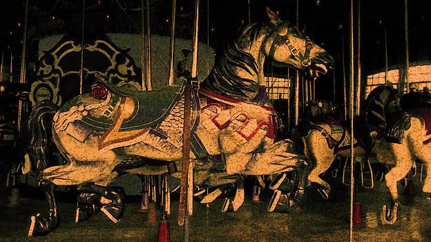 Merry-Go-Round Horse by Donna Betancourt