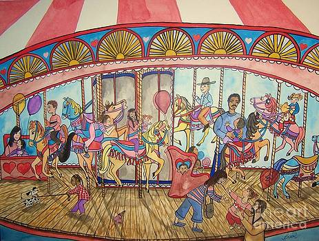 Merry-go-round by Laneea Tolley