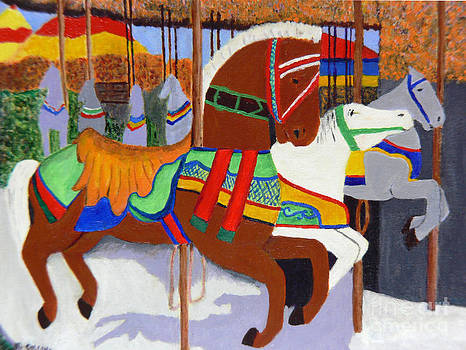 Merry-go-Round by Mary M Collins
