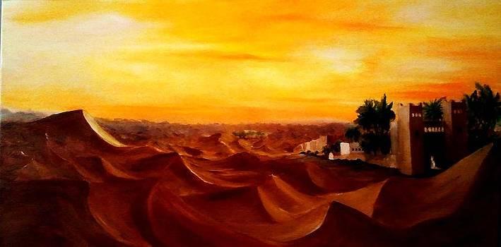 Merzouga Maroc by Liana Horbaniuc