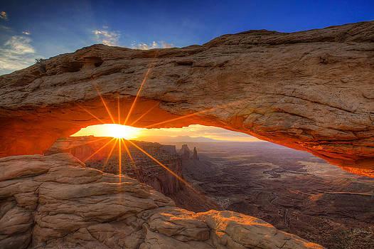 Mesa Sunrise by Peter Irwindale