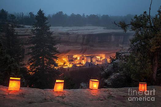 Mesa Verde Luminarias by Mike Wilkinson