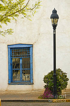 Mesilla Plaza Window by Lawrence Costales