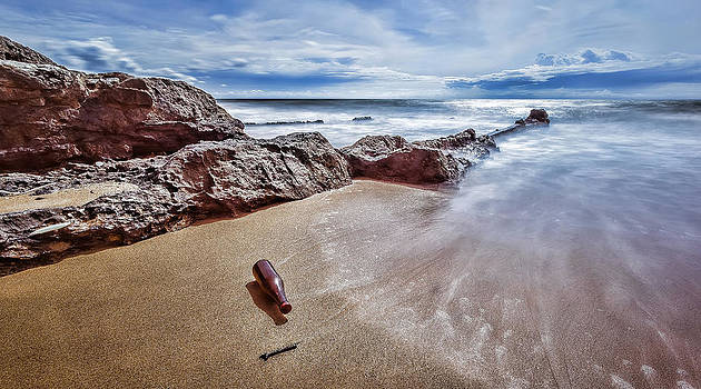 Message In A Bottle by Mario Legaspi