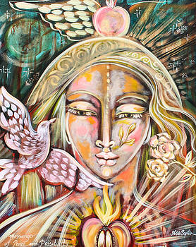 Messenger of Peace and Possibility by Shiloh Sophia McCloud