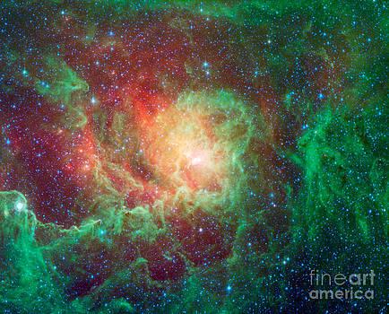 Science Source - Messier 8-M8-Ngc 6523-Lagoon Nebula