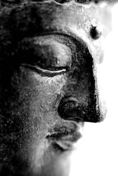 Metal Buddha Macro by Floyd Menezes