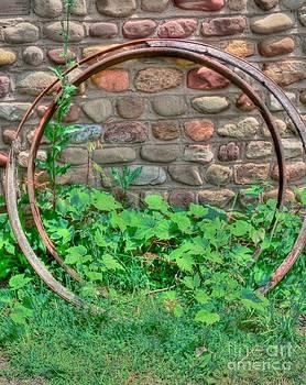 Metal Wheels by Kathleen Struckle