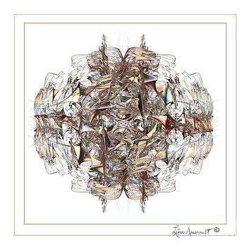 Metallic On White by Leona Arsenault