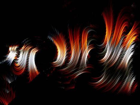 Lea Wiggins - Metallic Swirls