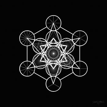 Metatron Wheel Cube by Derek Gedney