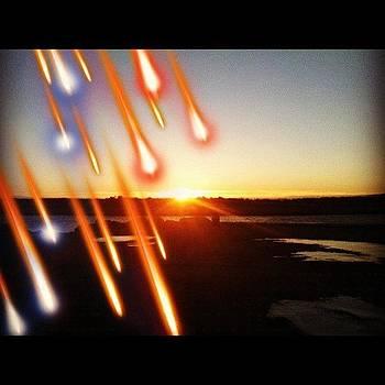 Meteor Shower Sunrise by Kahsha Ward