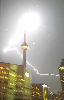 Meteoric Lightning Strike by Ken Branch