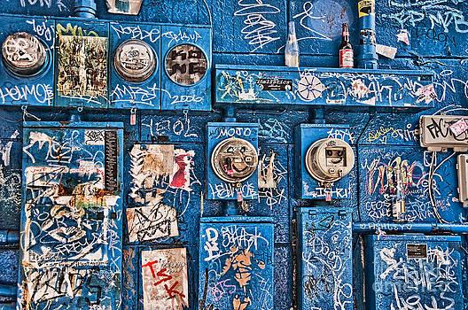 Kathleen K Parker - Meter Graffiti New Orleans Style