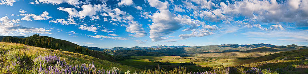 Methow Valley Panorama by Randal Ketchem