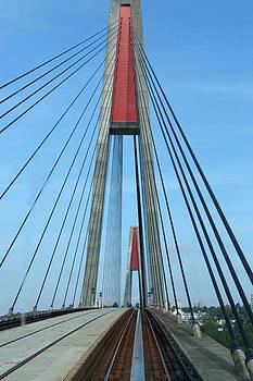 Metro Track and Bridge by Devinder Sangha