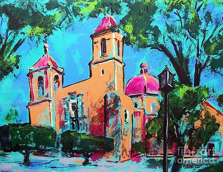 Mexican church in San Miguel by Cristiana Marinescu