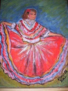 Mexican Dance by Elizabeth Diaz