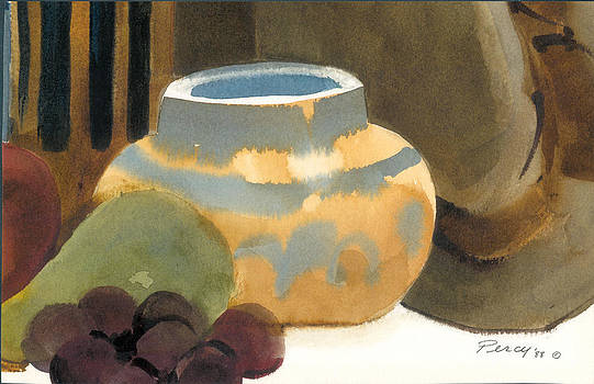 Mexican Fruit Bowl by Pat Percy