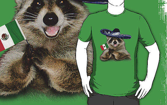 Jeanette K - Mexican Raccoon Shirt