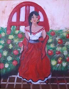 Mexican Senorita by Elizabeth Diaz