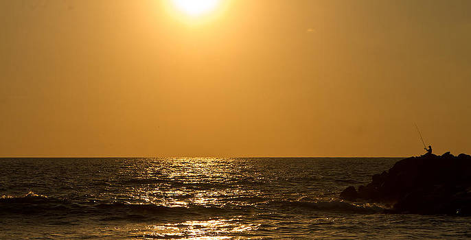 Mexican sunset by Joep K