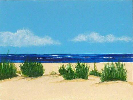 Mexico Beach I by Nancy Nuce