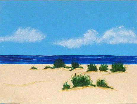Mexico Beach III by Nancy Nuce