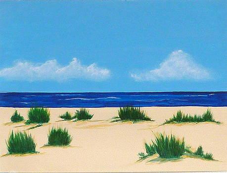 Mexico Beach IV by Nancy Nuce