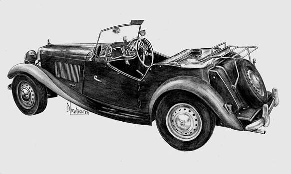 MG 1952 Model by Dave Lawson
