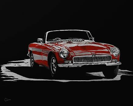 MG Red by Mark Miller