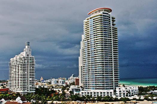 Miami Buildings by Al Shields