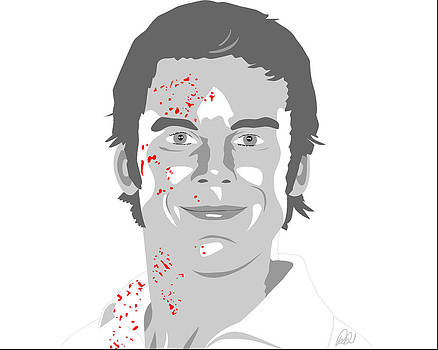 Michael C Hall as Dexter by Paul Dunkel