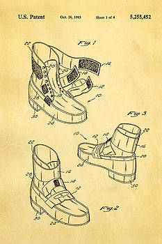 Ian Monk - Michael Jackson Anti Gravity Boot Patent Art 1993