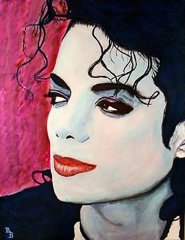 Michael Jackson Art - Full Color by Bob Baker