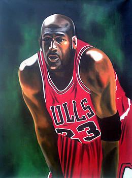 Michael Jordan by Hector Monroy by Hector Monroy