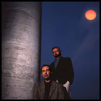 Michele Santoro e Giovanni Mantovani / foto Augusto De Luca. 32 by Augusto  De Luca