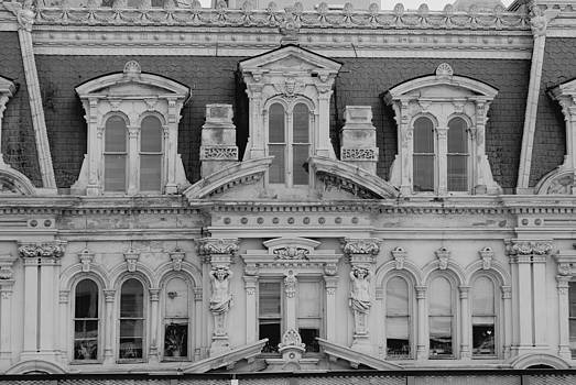 Devinder Sangha - Michell Building front Mono view